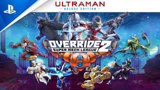 Override 2: Ultraman Deluxe Edition Announce Trailer | PS4, PS5