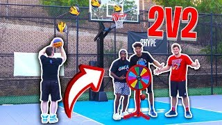 Old vs. Young 2v2 BASKETBALL CHALLENGE! ft. Troydan