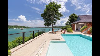 Exclusive Ocean Front Sea View Villa with 180 Degree Views  for Sale in Cape Panwa