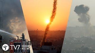 Israel under heavy rocket fire from Gaza - TV7 Israel News 12.11.19