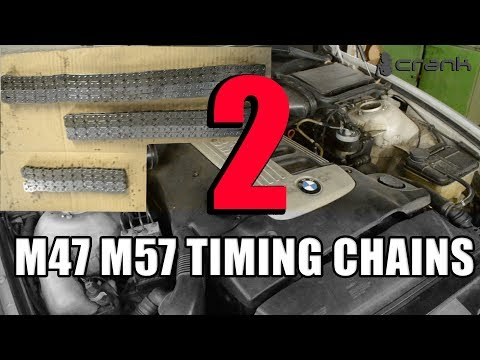bmw e46 timing chain removal