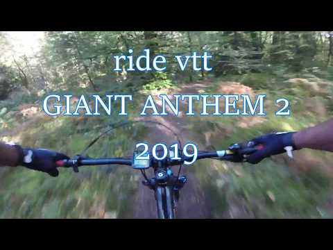 Видео о Велосипед Giant ANTHEM 2 27,5 black