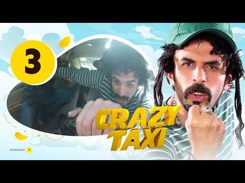 """الحلقة 3 من برنامج """"كريزي تاكسي"""": """"سائق التاكسي الإسرائيلي"""""""