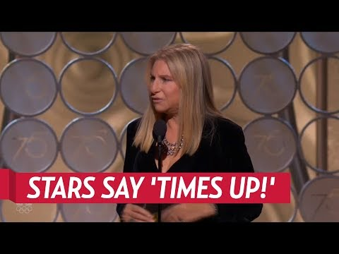 Celebs React To #MeToo And Times Up Movement at The Golden Globes 2018