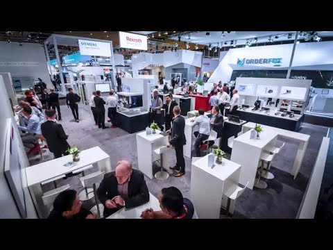 EMO 2017: Impressions from our Bosch Rexroth Booth
