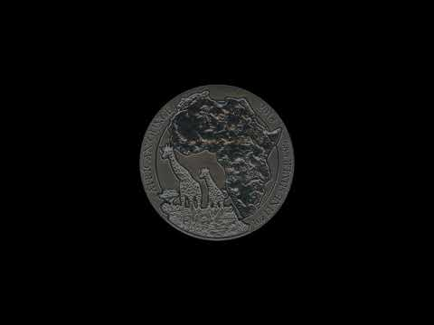 Video - 1 oz Ruanda Giraffe - 2018