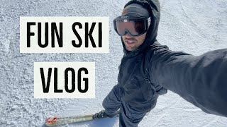 SKIING Day Trip with Antranik (VLOG)