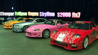 """""""FAST&FURIOUS"""" PRIVATE CAR COLLECTION !! (original moviecars)"""