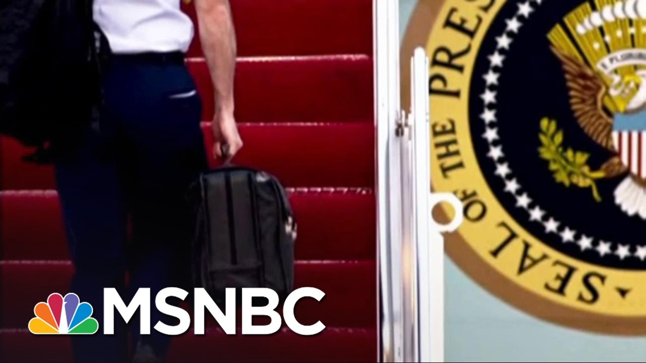 President-elect Donald Trump Prepares To Take Over 'Nuclear Football' | MSNBC thumbnail