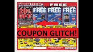 Harbor Freight Coupon Glitch! (Hurry Before They Fix It!)