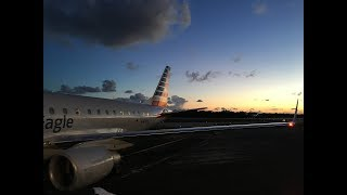 American Airlines E175 Key West to Miami (Full Flight)
