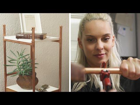 Tisch aus Kupferrohren |  DIY  | Jelena