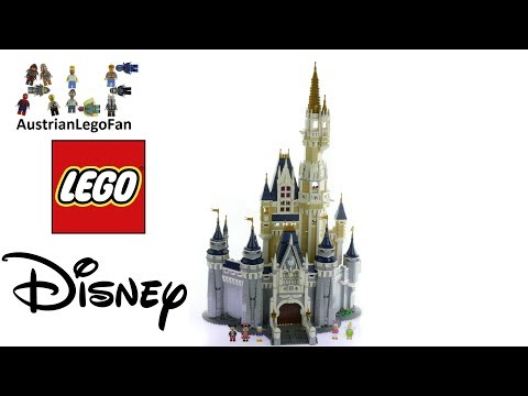 Lego Disney 71040 The Disney Castle - Lego Speed Build Review