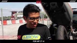 FDR 90 80-17 MP96 Race Soft Compound Racing Ban Luar Motor Bebek MP 96