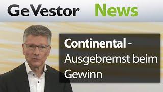 Ausgebremst beim Gewinn: Continental setzt jetzt auf die Antriebssparte