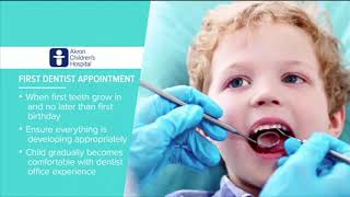 """First dental visit"" - Tips to Grow By"
