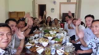 VLOG 347 ll Bữa ăn trưa đầu tiên tại Việt Nam