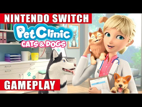 My Universe: Pet Clinic Cats & Dogs Nintendo Switch Gameplay