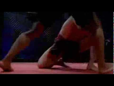 Capoeira in MMA  Hector Echavarria vs Lateef Crowder