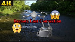 DJI Mavic 2 Pro Remote Connection Lost! | Relaxing Music + 4k River Footage