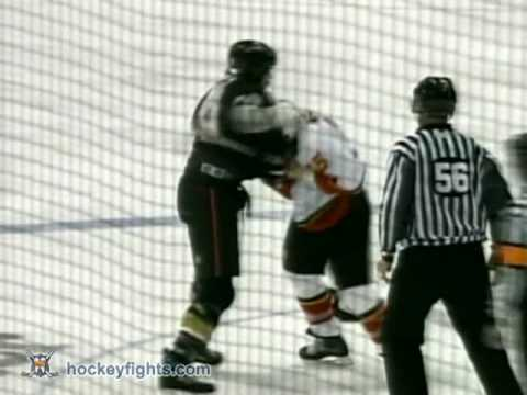 Darren McCarty vs George Parros