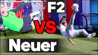 EPIC BATTLE |  F2 VS Manuel Neuer Machine!