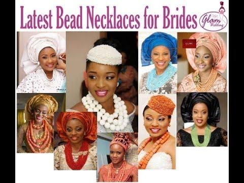 50 Statement Beads Necklace Designs & Styles: Nigerian & African Fashion