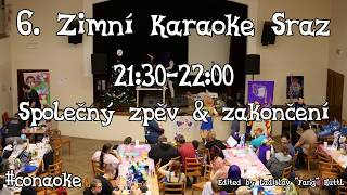 6. Vánoční karaoke sraz 2017 – Společný zpěv & zakončení