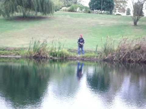 Chillicothe, Ohio area pond fishing in Fall 2010