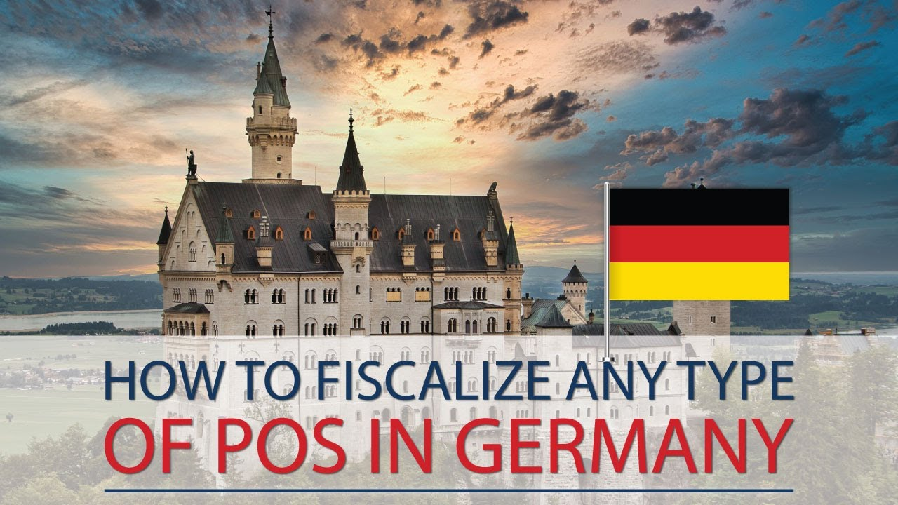 Fiscalization of mobile POS, regular POS and Self-CheckOut in Germany