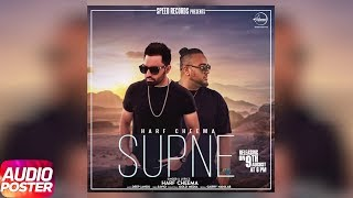 Latest Punjabi Song 2017 | Supna | Audio Poster | Harf Cheema | Deep Jandu | Speed Records