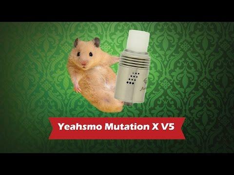 Mutation X V5 PLUS (Yeahsmo) - обслуживаемый атомайзер для дрипа - видео 1