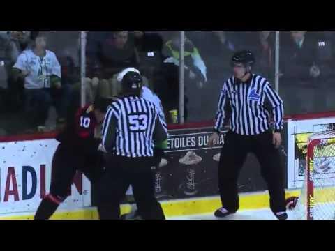 Jeremie Fraser vs. Jeremy Gregoire