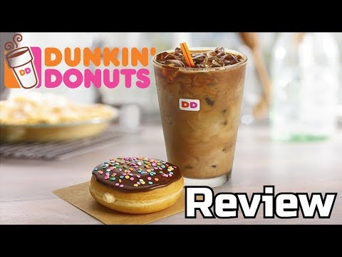 Dunkin Donuts Vanilla Cake Batter Donut & S'mores Iced Coffee Reviews – Wreckless Eating