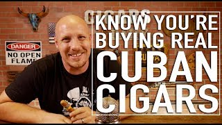 How To Know Youre Getting REAL Cuban Cigars!