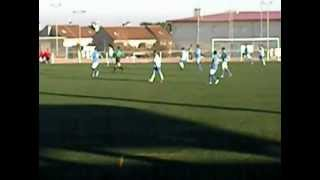 preview picture of video 'griñon 0 rayo majadahonda 4 primer golito  de isra en 3ª division el 0-1'