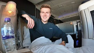 Flying First Class on British Airways 747 - Honest Review