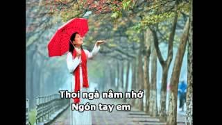 Karaoke Mưa Xuân - Thơ Nguyễn Bính