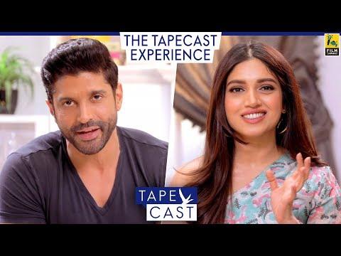 Bhumi Pednekar and Farhan Akhtar | TapeCast Season 2 | The TapeCast Experience