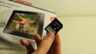 Hama - Digitaler Bilderrahmen   UNBOXING [HD+]