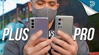 Samsung Galaxy S21+ 5G VS OnePlus 9 Pro - IT HAPPENED!
