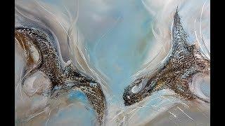 Acrylmalerei-Abstract-Acrylic Painting-Harmony
