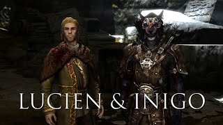 Lucien Flavius and Inigo - All Conversations - Skyrim Follower Mod Interaction Showcase