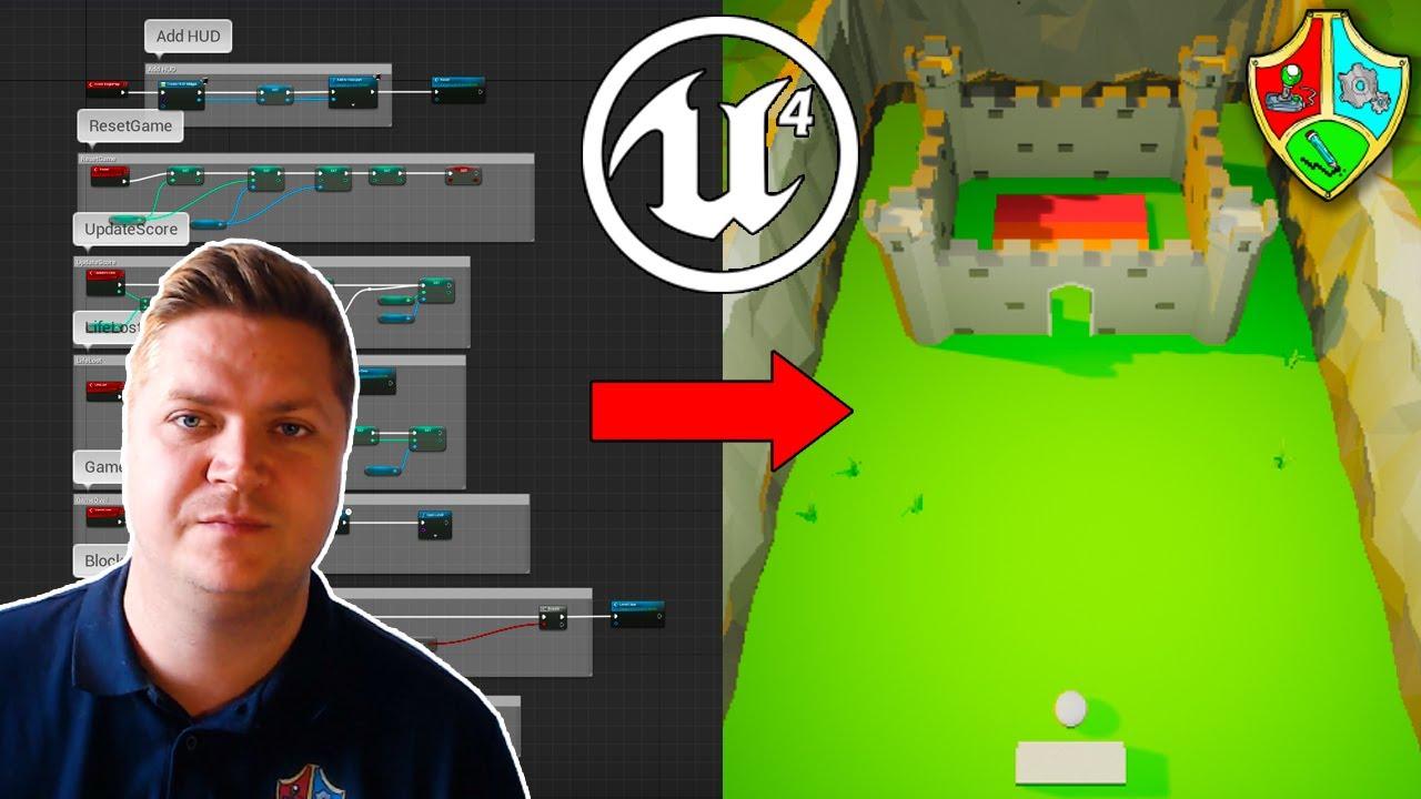 Unreal Engine 4 Blueprint Tutorial for Beginners