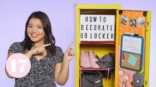 How To Decorate And Organize Your Locker | Plan With Me