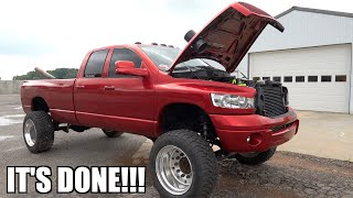 MY NEW 5.9 CUMMINS TRUCK IS TOTALED,  EVERYTHING THATS WRONG WITH IT!!!!