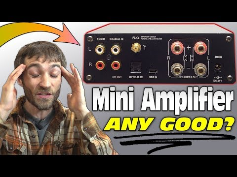 Mini Amplifier ANY GOOD!?!? EXO's Sabaj A4 Class D Amp Review vs AB Home Audio Receiver SOUND TEST