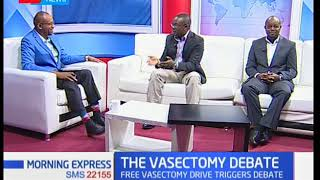 Morning Express: Free vasectomy drive triggers debate