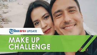 Video Kemesraan Raisa dan Hamish Daud dalam Husband Does My Make Up Challenge