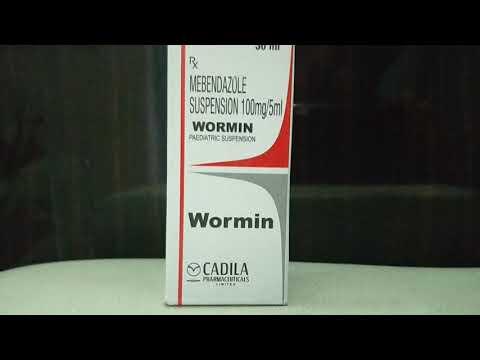 Széles spektrumú féreg gyógyszer